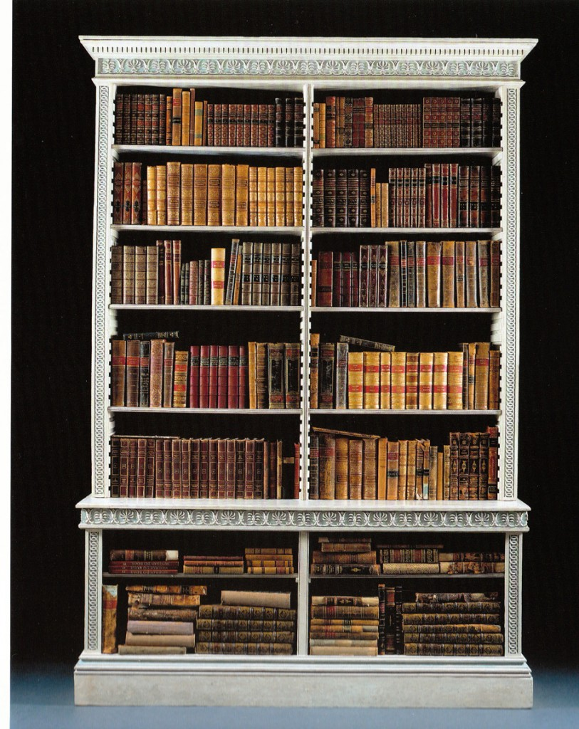 Wonderful  Home Library Bookcases With Ladder Bookcases For Library Library