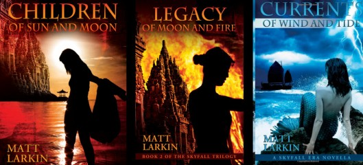 skyfall books