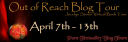 Out of Reach Blog Tour Banner