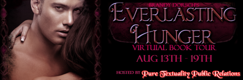 Everlasting Hunger Virtual Book Tour - Banner