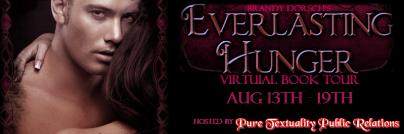 Everlasting Hunger Virtual Book Tour - Banner