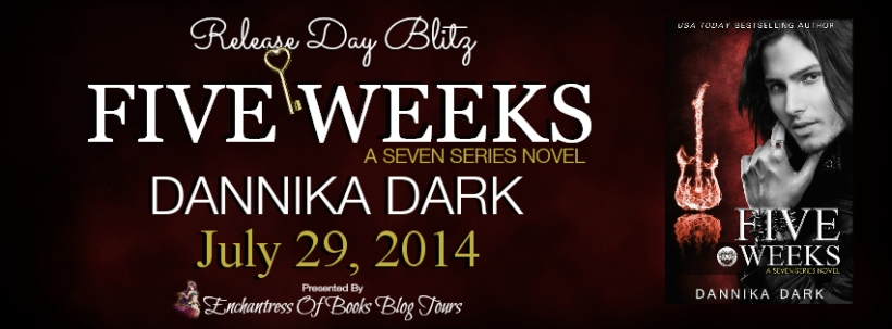 Five Weeks Release Day Blitz Banner