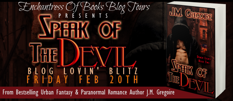 Book Blitz – Speak of the Devil