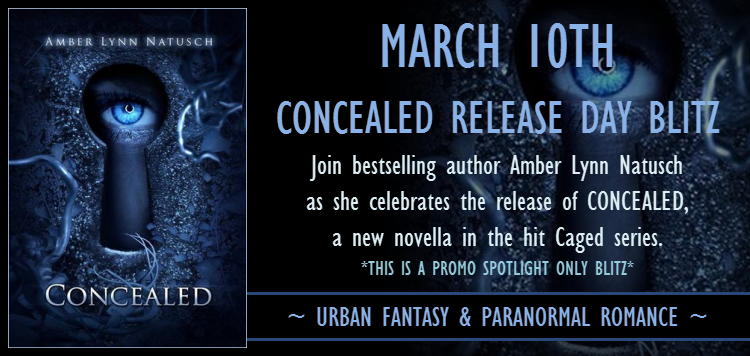 Release Day Promo: Concealed by Amber Lynn Natusch