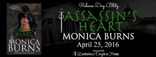 Assassin's Heart Release Day Blitz Banner