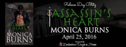 Assassin's Heart Release Day Blitz Banner