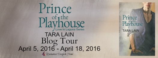 Prince of the Playhouse Blog Tour Banner