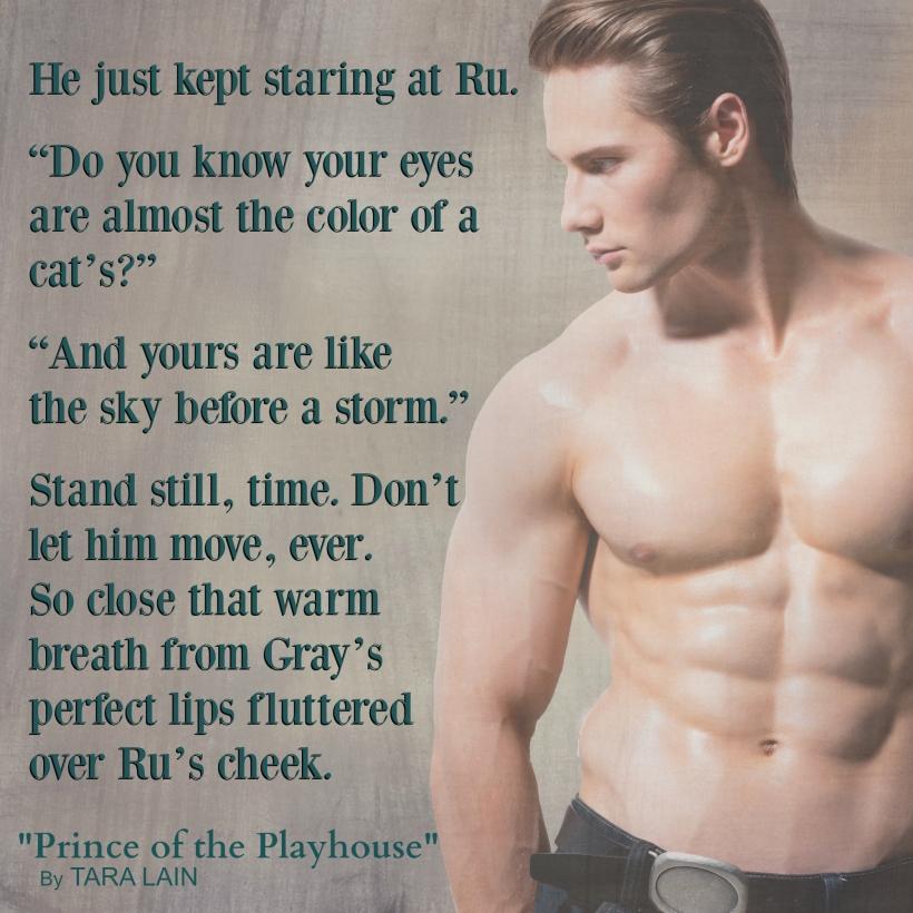 Teaser #2 - Prince of the Playhouse by Tara Lain