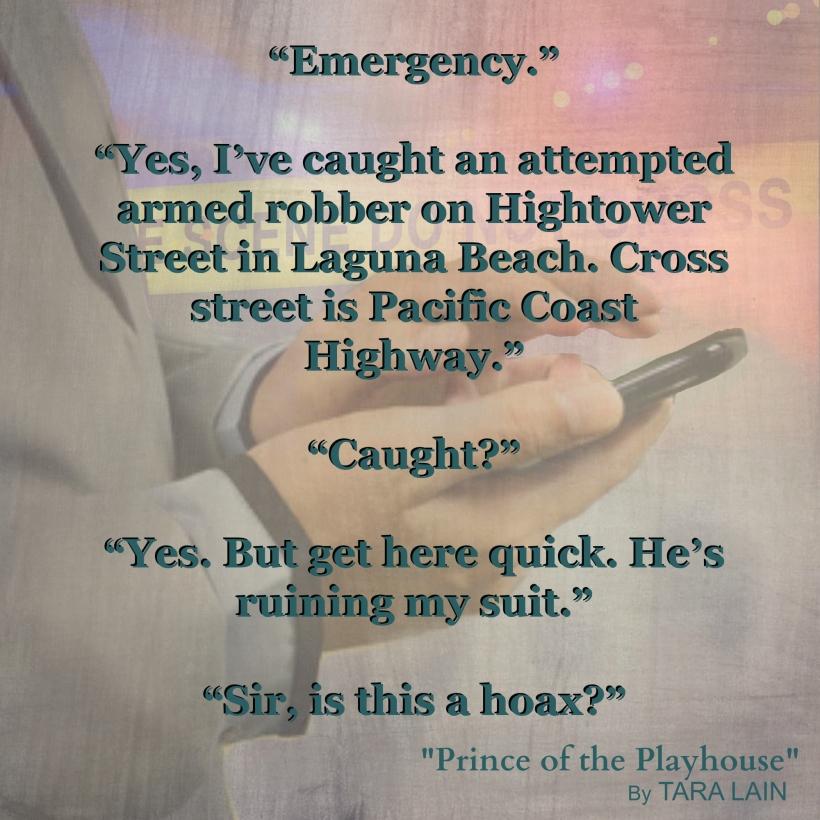 Teaser #3 - Prince of the Playhouse by Tara Lain
