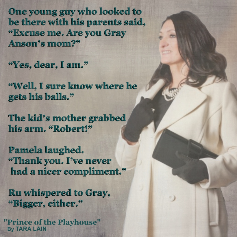 Teaser #4 - Prince of the Playhouse by Tara Lain